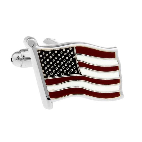 미국 국기 성조기 커프스