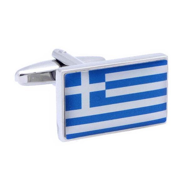 그리스 국기 커프스