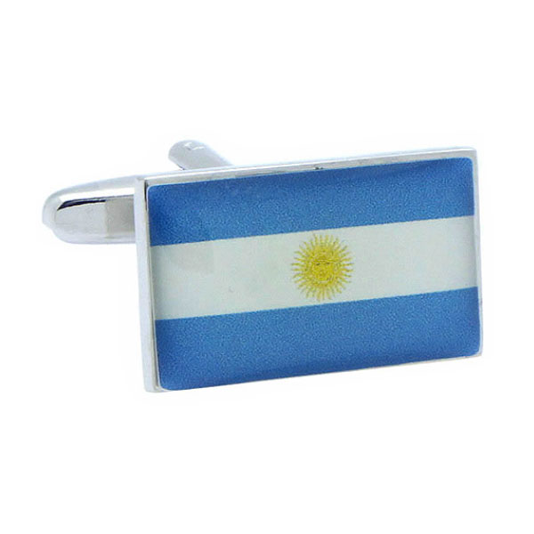 아르헨티나 국기 커프스