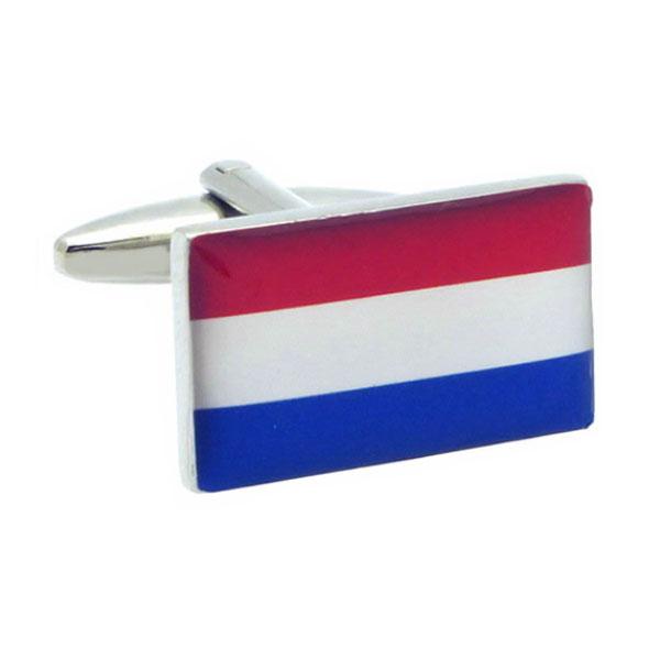 네덜란드 국기 커프스