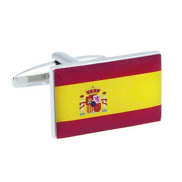스페인 국기 커프스