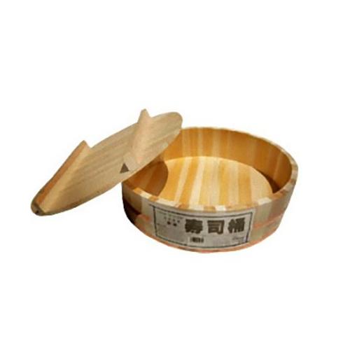 일본산 고급 화백나무로 만든 초밥통(240×78mm)